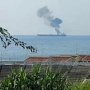 Trois morts dans l'attaque contre un pétrolier iranien au large de la Syrie