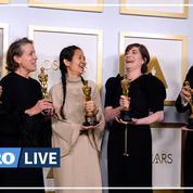 Le flirt de Brad Pitt, le «twerk» de Glenn Close, Zeller amoureux… les cinq temps forts des Oscars