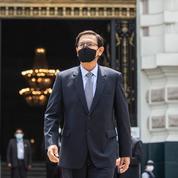 Pérou: l'ex-président Vizcarra testé positif au Covid-19 malgré sa vaccination