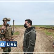 Ukraine : le président met en garde contre un retour des troupes russes «à tout moment»