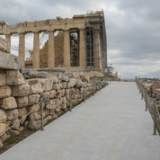 Athènes : déchirements autour des nouveaux sentiers en béton de l'Acropole