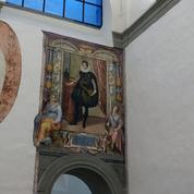 Florence : découverte surprise de fresques lors de la restauration de la Galerie des Offices