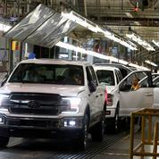Chez Ford, la pénurie de puces divise la production par deux