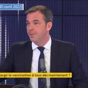 Olivier Véran annonce l'ouverture de la vaccination à toutes les personnes majeures avec «comorbidités»