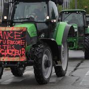 PAC: plus d'un millier de tracteurs devant le Parlement européen à Strasbourg