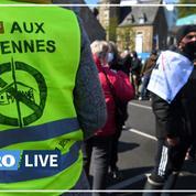 Parc éolien dans les Côtes d'Amor : manifestation dans la baie de Saint-Brieuc