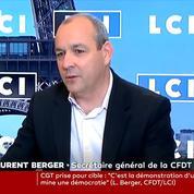 «Ultraviolents», «décérébrés» : Laurent Berger dénonce les auteurs de violences le 1er mai