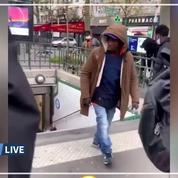 Agression porte de la Chapelle : l'individu qui avait poussé une femme dans le métro parisien expulsé de France