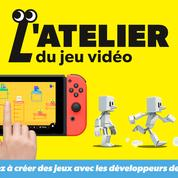 Nintendo lance l'Atelier du jeu vidéo pour développer ses propres jeux