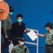 Hongkong: Joshua Wong condamné à dix mois de prison