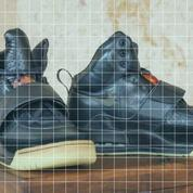 Sneakers : de l'or aux pieds