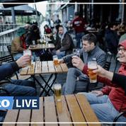 En Belgique, les terrasses des bars et des restaurants rouvrent