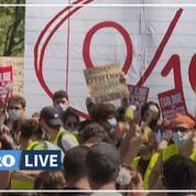 Des dizaines de milliers de personnes manifestent contre la loi climat