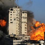 Gaza: un édifice d'une dizaine d'étages détruit par des frappes israéliennes