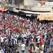 Des milliers de Jordaniens dans la rue en solidarité avec les Palestiniens