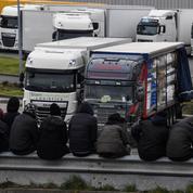Calais : des migrants tentent de s'introduire dans le port, un routier légèrement blessé
