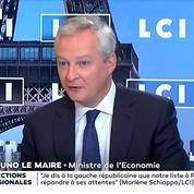 Réouvertures mercredi : «C'est un moment très important», estime Bruno Le Maire