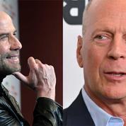 John Travolta et Bruce Willis réunis devant les caméras presque trente ans après Pulp Fiction