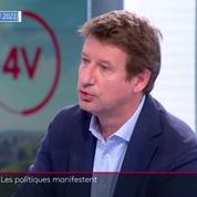 Rassemblement des forces de l'ordre : Yannick Jadot justifie sa présence et veut «faire des propositions»
