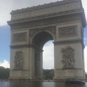 L'Arc de triomphe n'attire pas les foules pour la réouverture