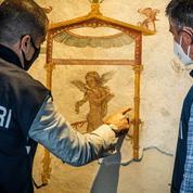 Un demi-siècle après avoir été dérobées, des fresques de la région de Pompéi de retour sous le Vésuve