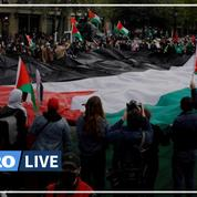 Plusieurs milliers de personnes dans les rues françaises en soutien aux Palestiniens