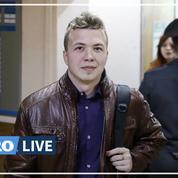 Biélorussie : un opposant arrêté à l'aéroport de Minsk après un atterrissage d'urgence