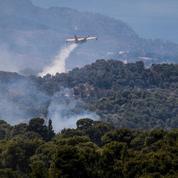 Grèce : l'incendie de Geraneia, «catastrophe écologique», en passe d'être totalement maîtrisé