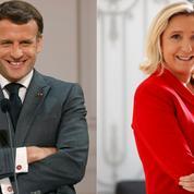 Présidentielle 2022: le duel Macron-Le Pen s'installe, Bertrand se détache à droite