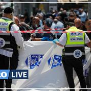 Jérusalem: deux blessés dans une attaque au couteau, l'assaillant abattu