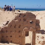 Une villa maritime et des thermes romains mis au jour sur les plages de Trafalgar