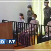 Birmanie : Aung San Suu Kyi fait physiquement face à ses juges