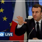 Mali : «Coup d'État inacceptable» pour l'UE, prête à prendre «des sanctions ciblées», annonce Macron
