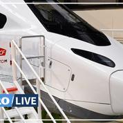 La SNCF et Alstom dévoilent le «nez» de leur «TGV du futur»