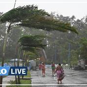 Le puissant cyclone Yaas s'abat sur les côtes orientales de l'Inde et fait neuf morts