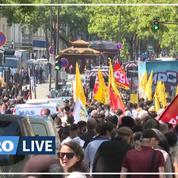 Environ un millier de manifestants pour le droit au logement à Paris