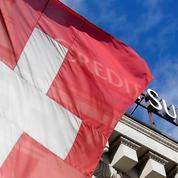 Suisse: le PIB se contracte de 0,5% au premier trimestre