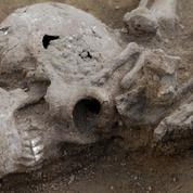 Dans la Bretagne romaine en crise, découverte de vestiges humains décapités