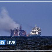 Catastrophe environnementale au Sri Lanka: le feu éteint sur le navire après 13 jours d'incendie