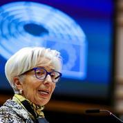 La BCE «engagée à maintenir des conditions de financement favorables», rappelle Lagarde