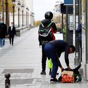 En Île-de-France, comment la livraison à domicile défigure l'espace public