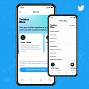 Twitter officialise son offre payante «Twitter Blue»