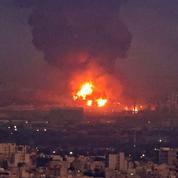 Feu maîtrisé mais pas éteint à la raffinerie de pétrole de Téhéran