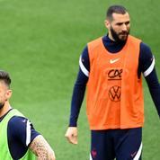 Olivier Giroud taquine Karim Benzema : «Si on gagne l'Euro, on fêtera ça sur un circuit dans un karting»