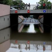 Orages : un «torrent d'eau» se déverse dans les rues de Reims