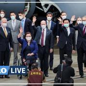 Taïwan: arrivée de sénateurs américains et promesse de don de vaccins