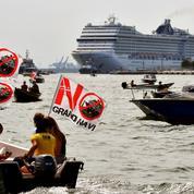 À Venise, tensions après la réouverture de la lagune aux croisières