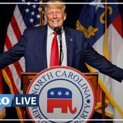 «Biden fait passer l'Amérique en dernier»: le retour de Trump sur scène