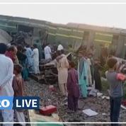 Pakistan: au moins 40 morts dans un accident de train