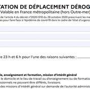 Attestation couvre-feu à 23 heures : téléchargez le formulaire papier ou smartphone